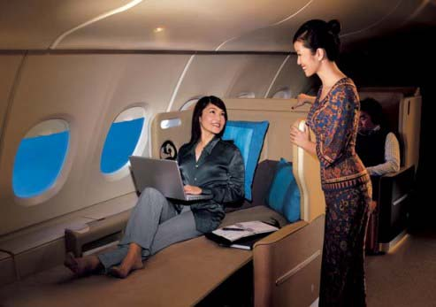 Mixed Business & Economy Class to Europe with Singapore Airlines