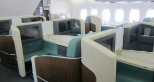 First Class airfares to Europe with Korean Airlines