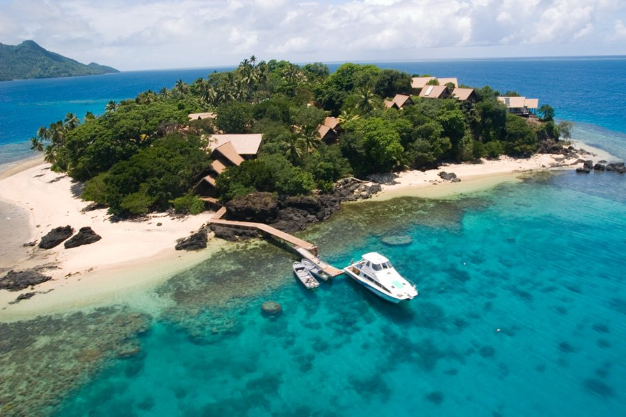 Beqa Island Fiji  City pictures : Luxury Fiji Island Resort, Royal Davui