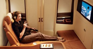 First Class Flights to Europe with Singapore Airlines
