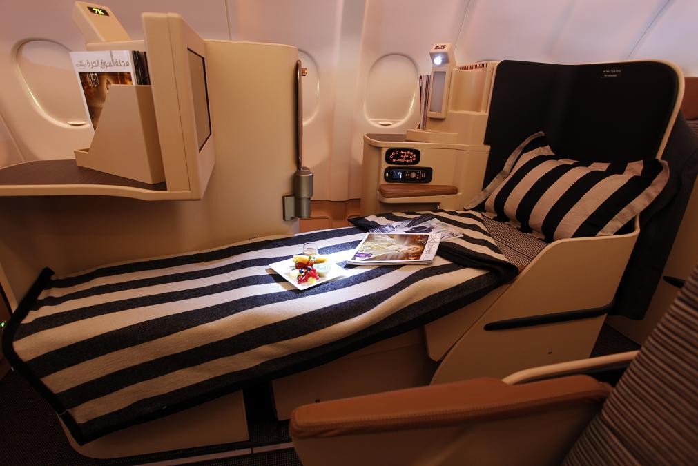 Etihad Airways Business and First Class Specials
