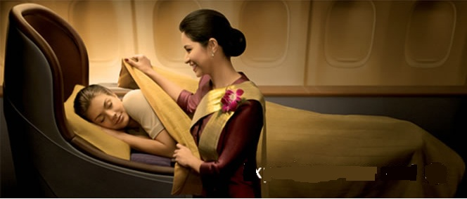 Thai Airways Business Class New Year Special to Europe