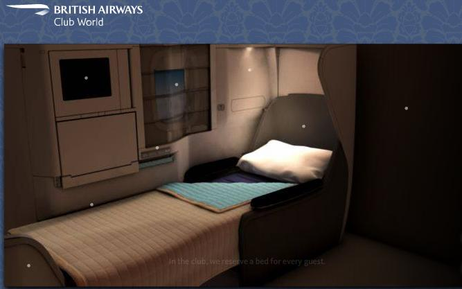 British Airways Business Class with FREE upgrade to First Class