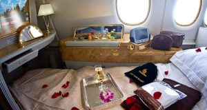 First Class Earlybird Special to Europe from $9540 + Taxes with Emirates Airlines