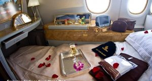 First Class Flights to Europe with Emirates Airlines