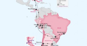 APT Tours 2017 – 28 Day Best of South America with Cuba and Panama