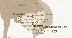 Scenic Tours 2017 – Luxury Mekong (Ho Chi Minh to Siem Reap)