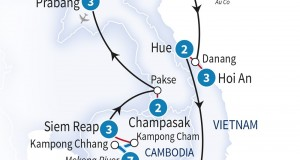 Scenic Tours 2016 – 27 Day Indochina & Luxury Mekong River Cruise