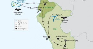 APT Tours 2017 – 22 Day Peru with Amazon and Galapagos Island