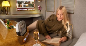 Emirates First Class to Europe