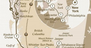 Scenic Tours 2017 – Grand Tour of Canada & Alaska (Vancouver to New York city)
