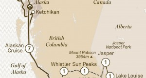 Scenic Tours 2017 – The Canadian Rockies & Alaskan Cruise (Victoria to Vancouver)