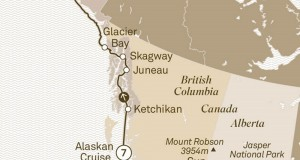 Scenic Tours 2017 – The Rockies, Voyage of the Glaciers & Arctic Circle (Vancouver to Fairbanks)