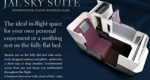 Japan Airlines Business Class Companion Deal to Europe