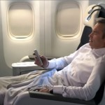 Business Class with Air France to Europe