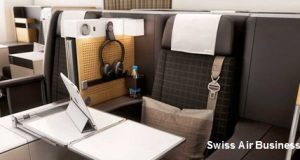 Around the World in Business Class with Swiss Air and Partner Airlines