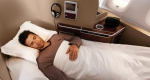 Qantas Airways First Class to North America