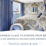 Fly Return Business Class to Europe from AUD$3999