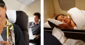 Mixed Business and First Class Around The World Tickets from $9390 + taxes approx. $900-$1500 with Lufthansa