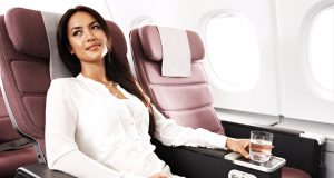 Premium Economy Class Flights to London with Qantas Airways