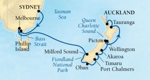 16 Day Australia & New Zealand, Seabourn