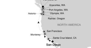 American West Coast Expedition Cruise 2018 – San Diego, California to Vancouver, Silversea
