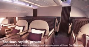 First Class and Business Class Special to Europe with Qatar Airways