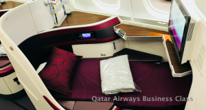 First Class Special to Europe with Qatar Airways
