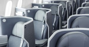 Business Class to North America from $5560 inclusive of taxes