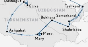 Abercrombie & Kent 2018 – An Ancient Trade Routes of Central Asia