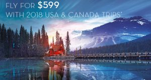 Return Flights to North America & Canada for $599 with American Airlines