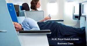 Business Class Special to Europe with KLM, Royal Dutch Airlines