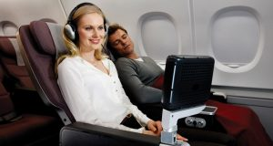 Premium Economy Class Flights to Hong Kong with Qantas Airways