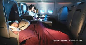 Business Class Special to North America with Qantas Airways