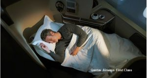 First Class Companion Special to Europe with Qantas Airways