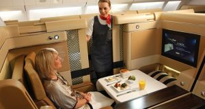 First Class Flights to Europe with Etihad Airways
