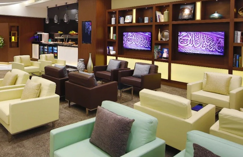 Etihad Lounge Seats