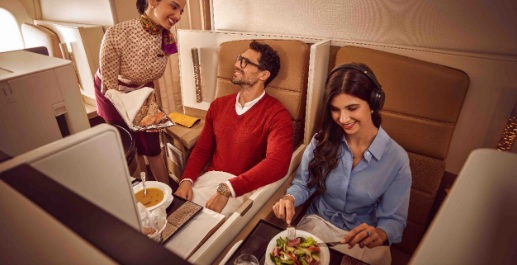 Etihad Business Fine Dining