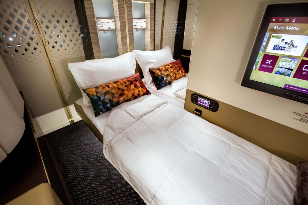 First Class Apartments on Etihad A380