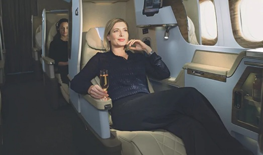 Emirates Business Class Reclining Seat