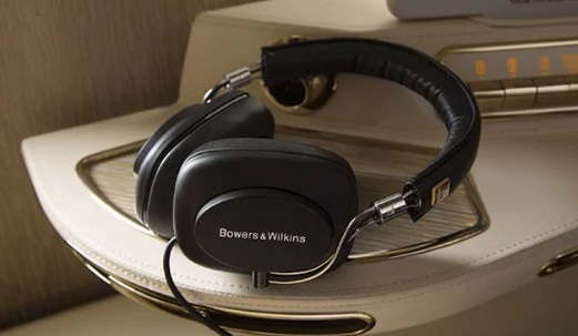 Emirates First Class Bowers & Wilkins Headphones