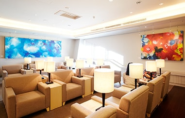 China Airlines VIP Lounge Seats