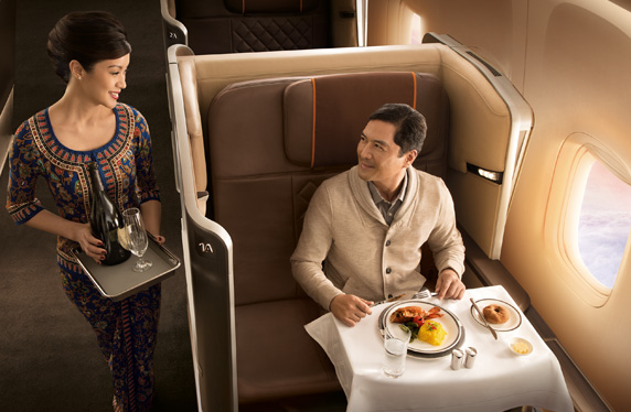 Singapore Airlines Fine Dining