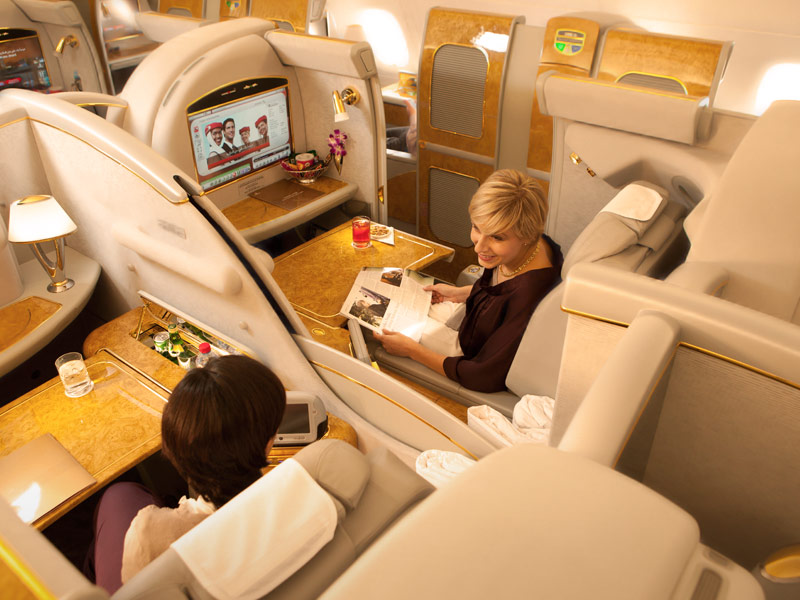 Emirates Airlines First class