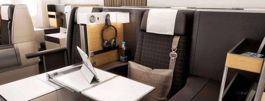 Swiss Air Business Class