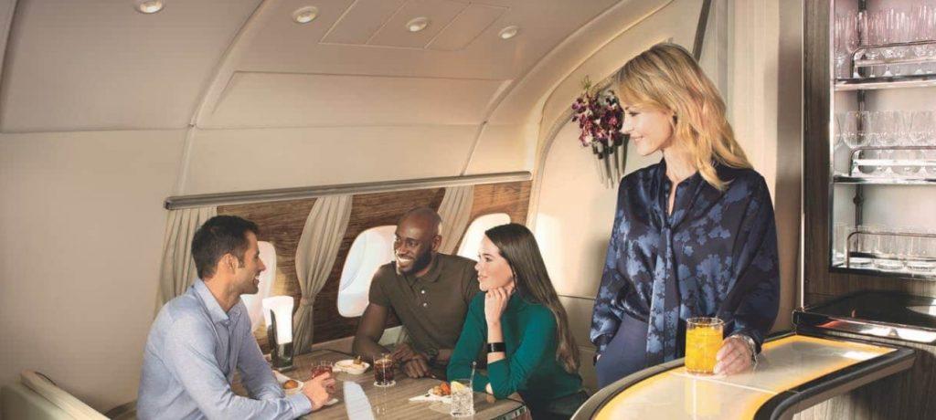 Emirates First Class & Business Class Lounge