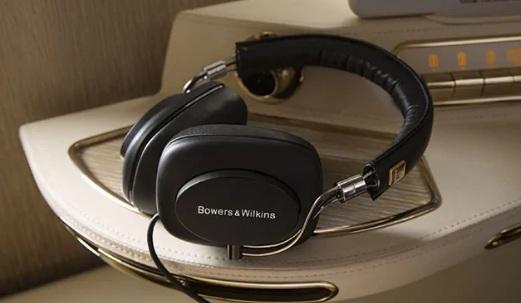 Emirates First Class Bowers & Wilkins Headphones