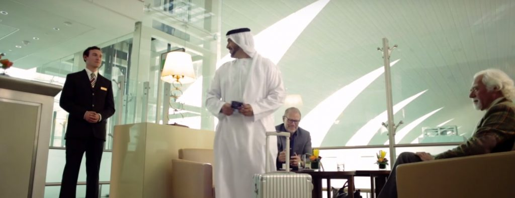 Emirates First Class Lounges