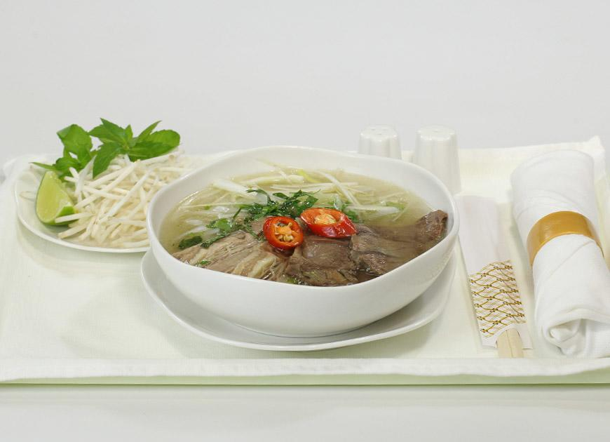 Pho on Vietnam Airlines Business Class