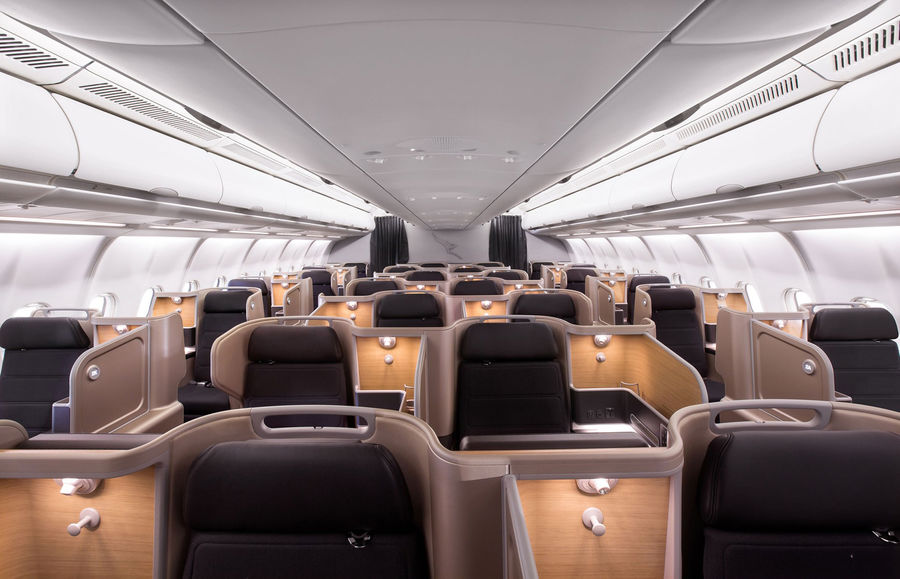 Qantas Business Class Configuration